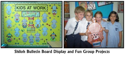 Shiloh Bulletin Board Display Examples and Fun Group Projects