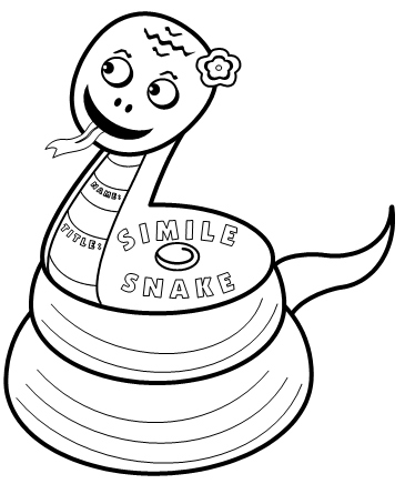 Poetry Lesson Plans:  Simile Templates and Worksheets