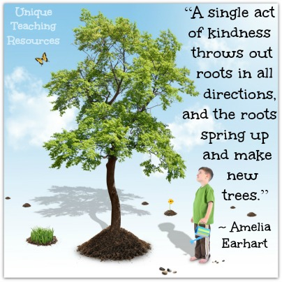 Single Act of Kindness - Amelia Earhart Quote