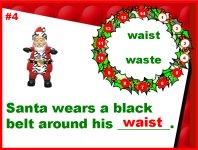 Christmas Grammar Homophones Powerpoint Presentation
