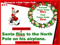 Christmas Grammar Verbs Powerpoint Lesson Plans