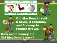 Math Word Problems Powerpoint Presentation Farm Theme