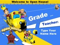 Parent Open House Powerpoint Presentation