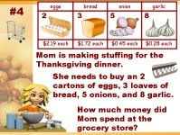 Thanksgiving Math Word Problems Powerpoint Lesson Plans