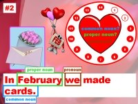 Valentine's Day Grammar Nouns Powerpoint Lesson Plans