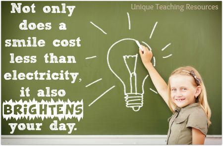 Funny education quotes - Smile costs less than electricity.