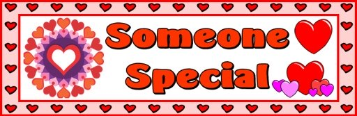 Valentine's Day Someone Special Classroom Bulletin Board Display