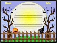 Spooky Halloween Printable Worksheet