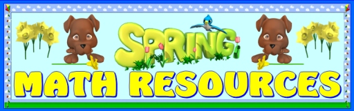 Spring Math Teaching Resources and Lesson Plans