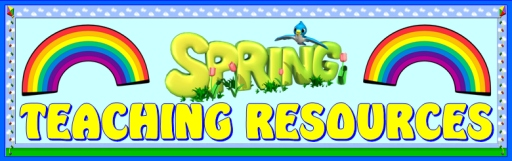 Spring Teaching Resources Bulletin Board Display Banner