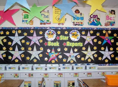Star Writing Templates Back To School Bulletin Board