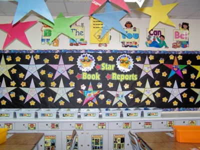 Star Shaped Book Report Projects and Writing Templates