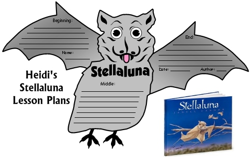 Stellaluna Lesson Plans For Elementary School Teachers, Author Janell Cannon