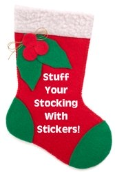 Christmas Stocking Photograph