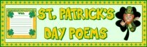 St. Patrick's Day Poems Bulletin Board Display Banner
