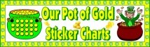 St. Patrick's Day Pot of Gold Bulletin Board Display Banner