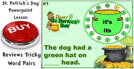 St. Patrick's Day Powerpoint Lesson For Elementary Students
