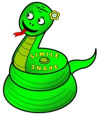 St. Patrick's Day Simile Snake Poetry Templates and Worksheets