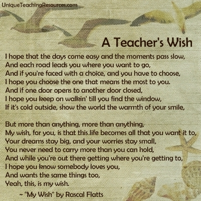 My Wish by Rascal Flats