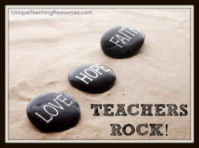 Teachers Rock! Teacher Appreciation Quotes