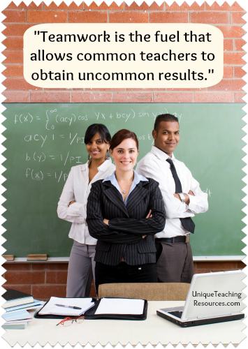 Quote About Teamwork and Teachers