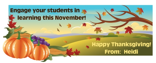 Thanksgiving, Fall, and Autumn Lesson Plans, Ideas, and Activities