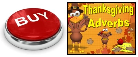 Thankgiving Adverbs Grammar Review Powerpoint Lesson Plans Buy Now