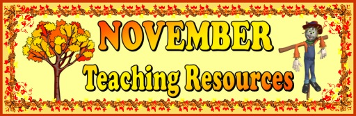 Fall, November, and Thanksgiving Teaching Resources and Lesson Plans