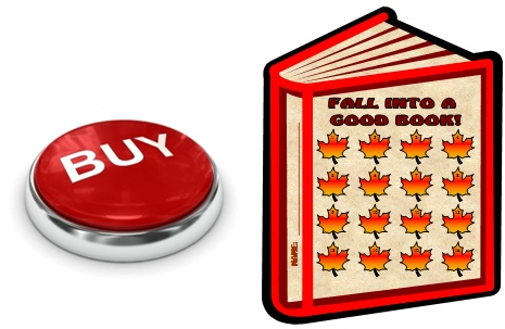 Thanksgiving Leaves Reading Sticker Charts Buy Now