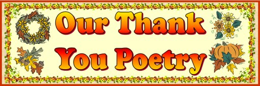 Thank You Acrostic Poems Bulletin Board Display for Thanksgiving
