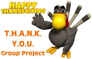 Thank You Thanksgiving Group Project