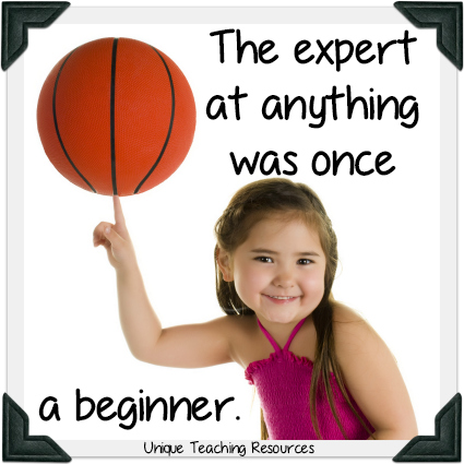 Little Girl - The expert at anything was once a beginner.