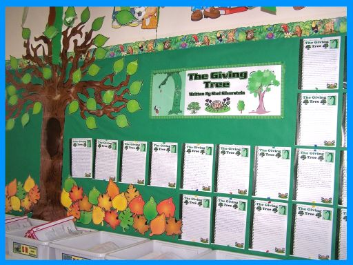Giving Tree Bulletin Board Display