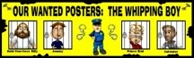 The Whipping Boy Wanted Posters Bulletin Board Display Banner