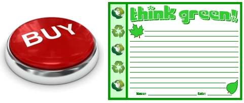 Buy Think Green Teaching Resources Set Now