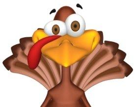 Smiling Turkey Graphic