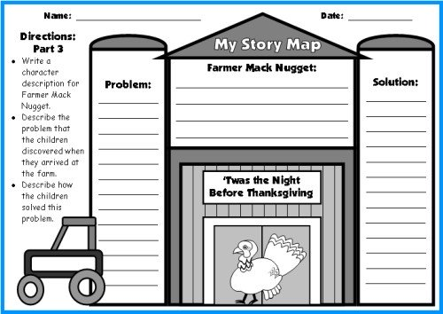 Twas the Night Before Thanksgiving Barn First Draft