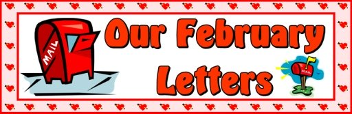 Valentine's Day Letter Writing Bulletin Board Banner