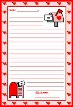 valentines day letter printable worksheet