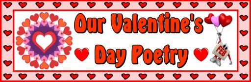 Valentine's Day Poetry Bulletin Board Display Banner