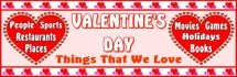 Valentine's Day Classroom Bulletin Board Bannerand Display