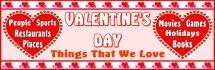 Valentine's Day Classroom Bulletin Board Bannerand Display