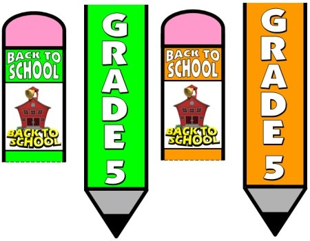 Back To School Teaching Resources for Grade 5 Students