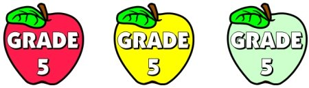 Apple Bulletin Board Display Ideas for Grade 5 Teachers