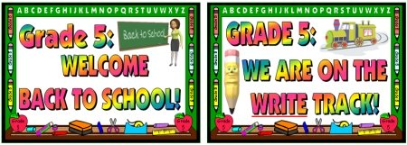Grade 5 Classroom Display Ideas Welcome Back To School