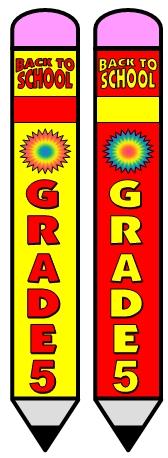 Welcome Back To School Grade 5 Bulletin Board Display Ideas