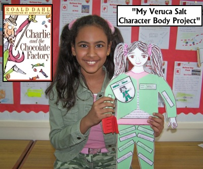 Veruca Salt Fun Character Projects for Charlie and the Chocolate Factory Roald Dahl