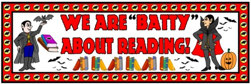 Free Halloween Reading Bulletin Board Display Banner Ideas and Examples