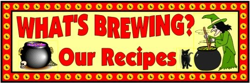 Whats Brewing Halloween Bulletin Board Display Banner