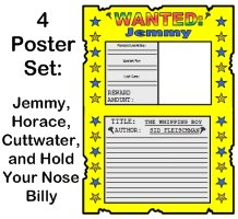 Whipping Boy Wanted Poster Projects Prince Brat and Jemmy